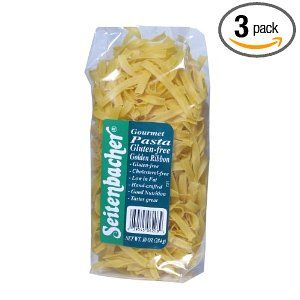 Broad noodles from Germany that are gluten free and taste ...