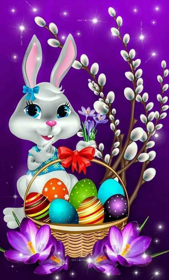 Pin By Anatolij Misnik On Apple Watch Faces Wallpapers I Love Happy Easter Wallpaper Easter Bunny Pictures Easter Wallpaper