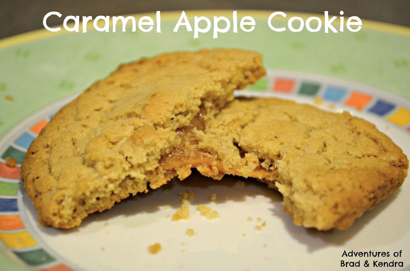 Adventures of Brad & Kendra: Caramel Apple Cookies