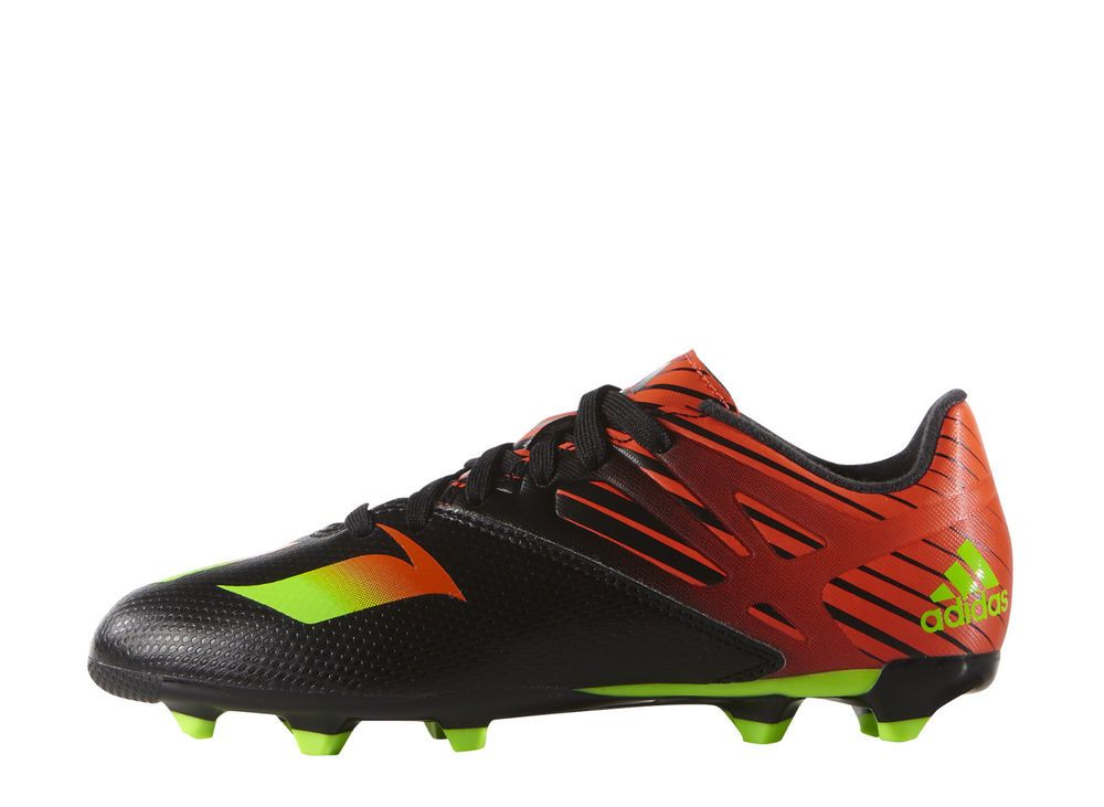 Adidas Kids Messi Football Shoes 15.3 Firm/Artificial Ground JR Cleats  AF4665 #Adidas