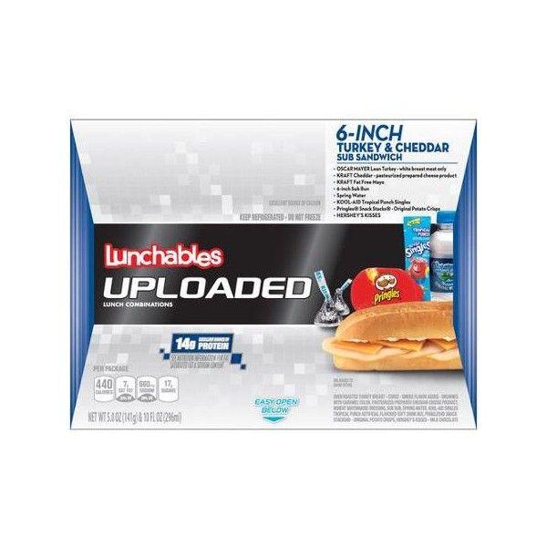 Lunchables Uploaded 6 Inch Turkey Cheddar Sub Sandwich 5 0 Oz Walmart Com Sub Sandwiches Convenience Food Lunchables