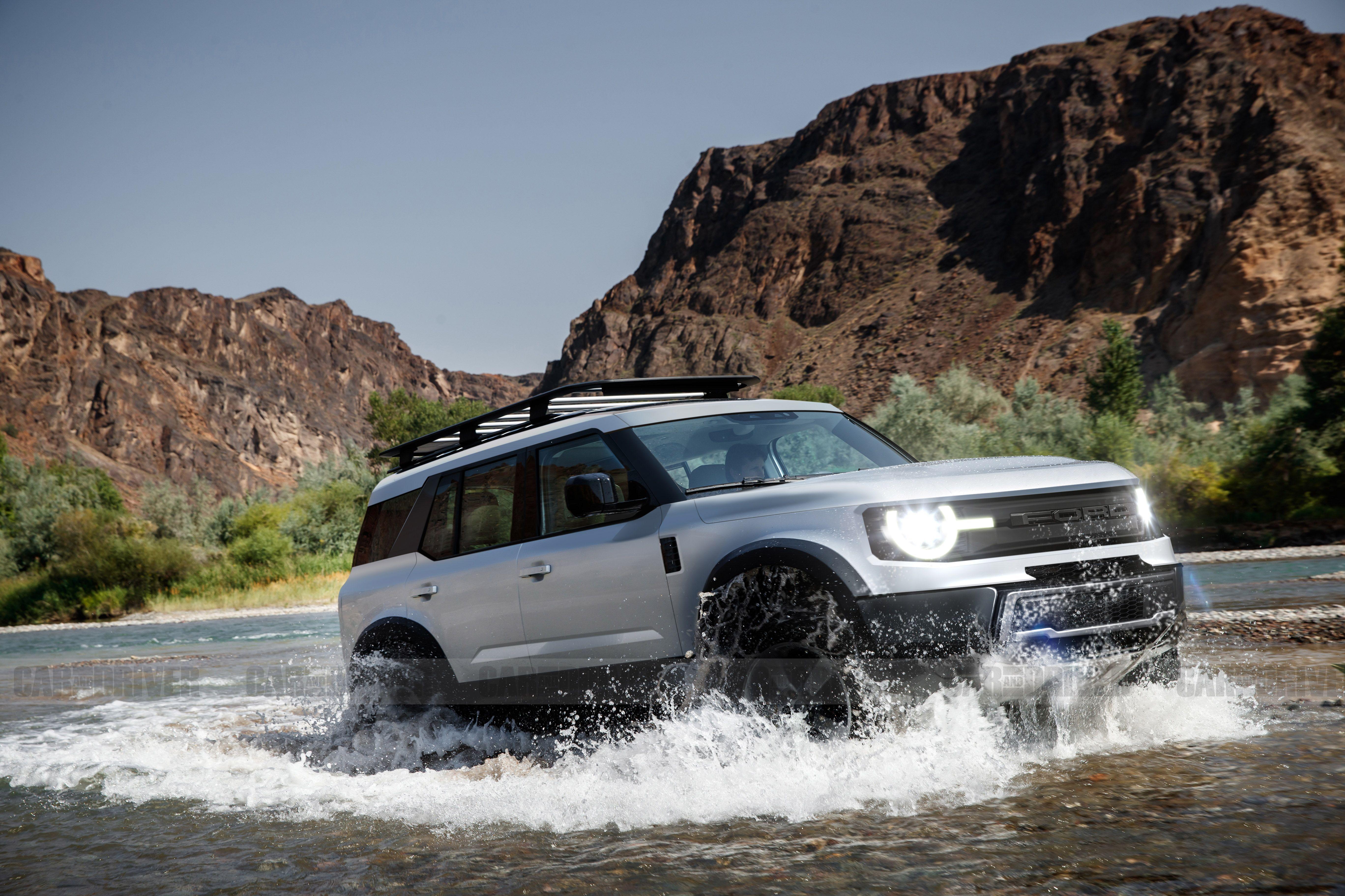 Full Size Bronco Concept Ford Bronco Ford Suv Bronco Truck