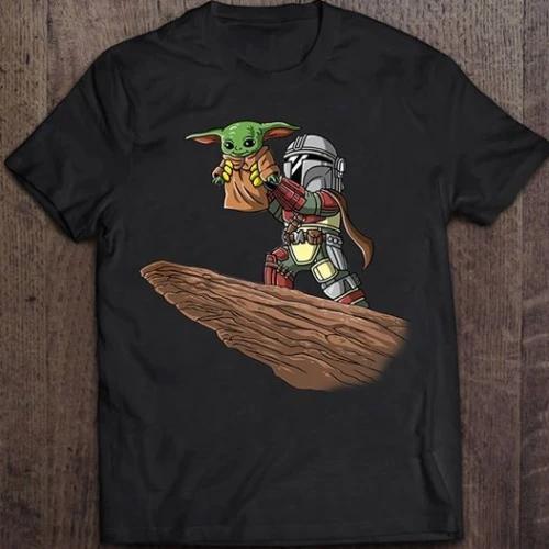 Baby Alien Shirt Baby Alien B B 8 When You Wish Upon A Death Star Disney Family Shirts. Star W a r s Mickey Man da lo rian Shirt
