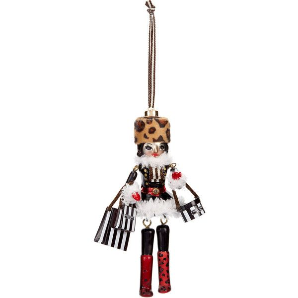 Henri Bendel Nutcracker Doll Ornament (£31) ❤ liked on Polyvore ...