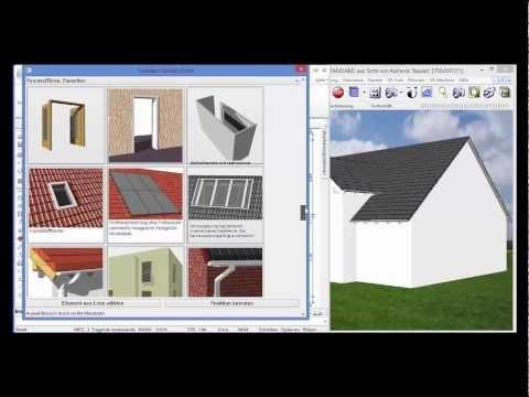 BausetHausplaner Gebäude und Häuser entwerfen Haus