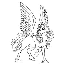 Top 10 Free Printable Pegasus Coloring Pages For Toddlers ...