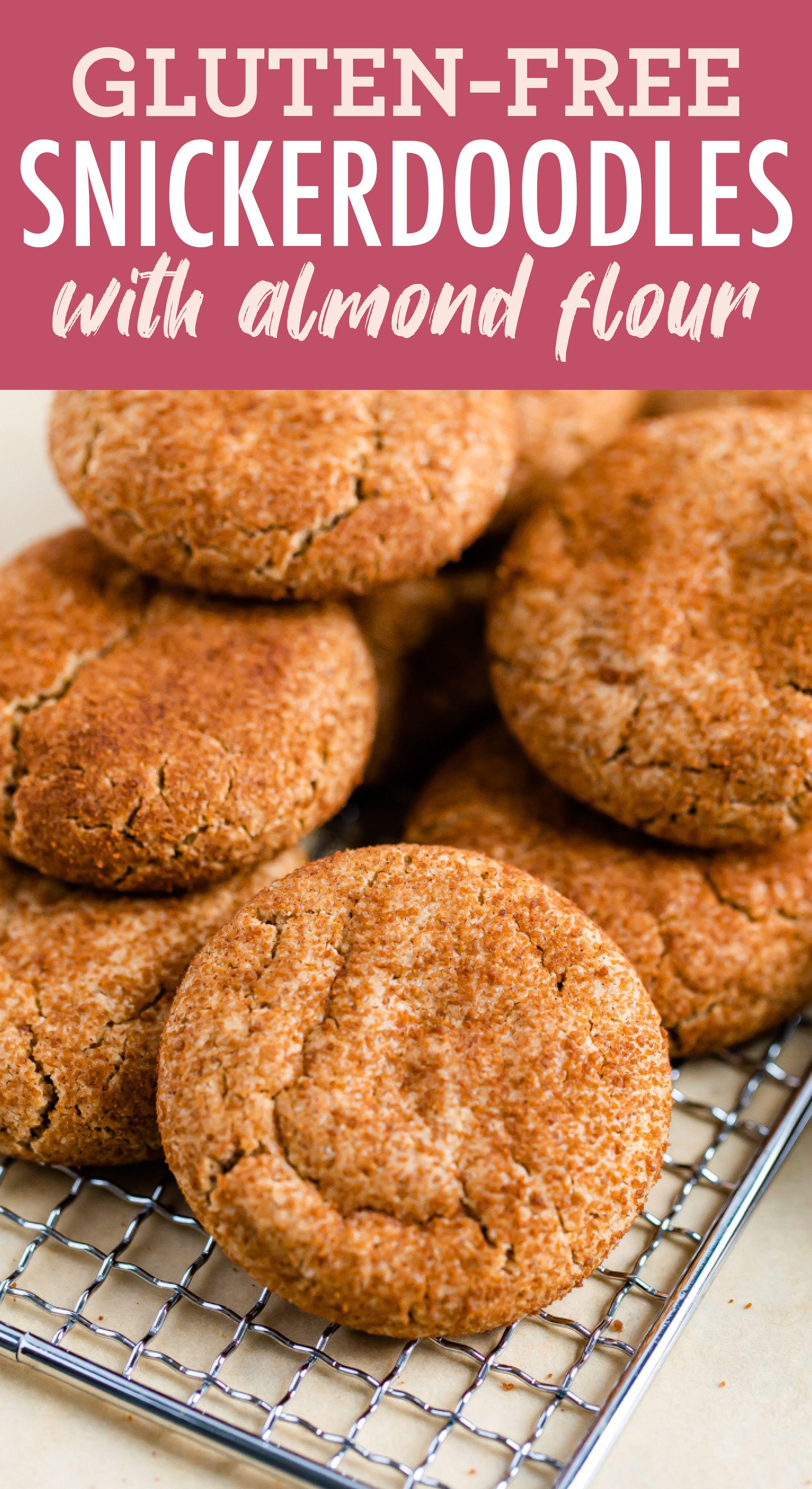 Almond Flour Snickerdoodles | Recipe | Gluten free ...