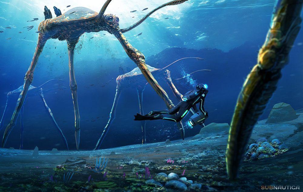 30+ Subnautica creature ideas in 2021
