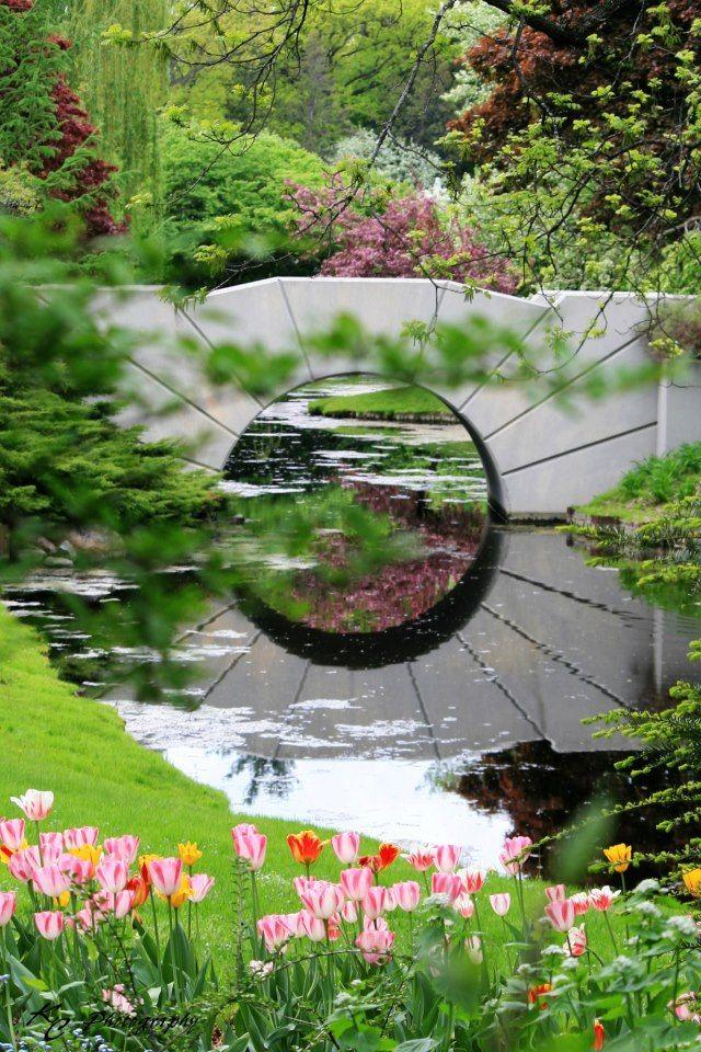 The Sun Bridge - Dow Gardens, Midland, MI #Photo courtesy of: KC ...