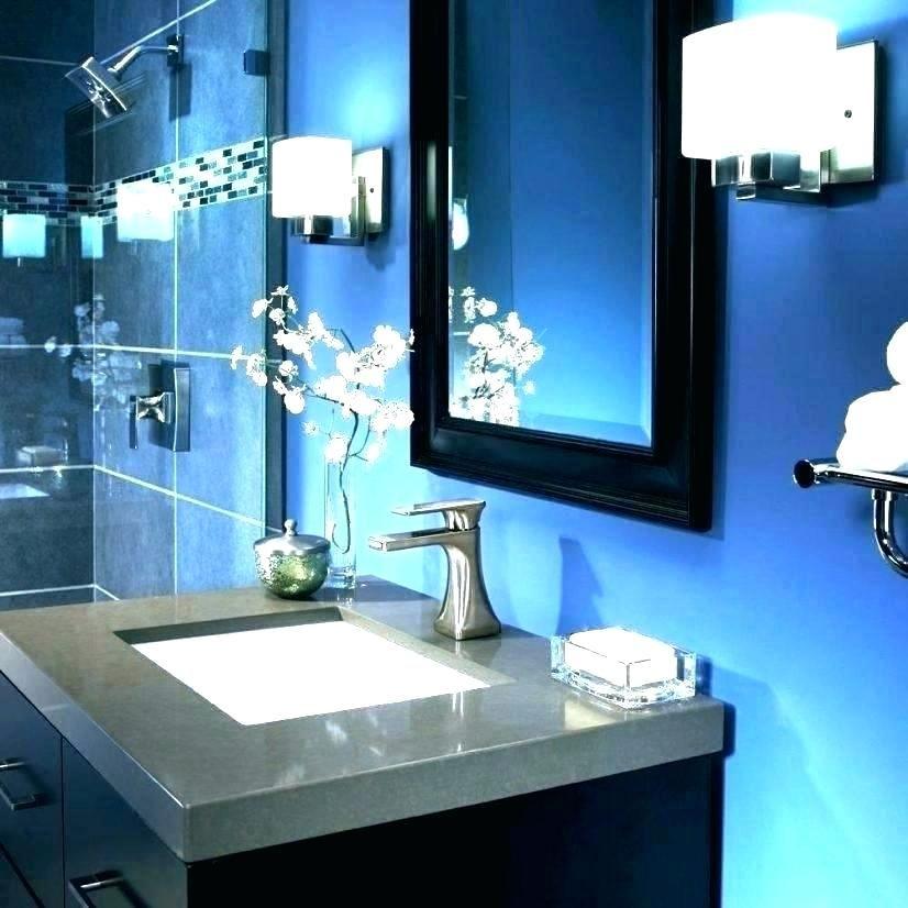 Black And Blue Bathroom Ideas