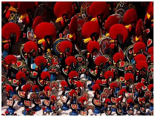 [ The Cock of Barcelos ] A symbol of faith, justice and extraordinary good luck!