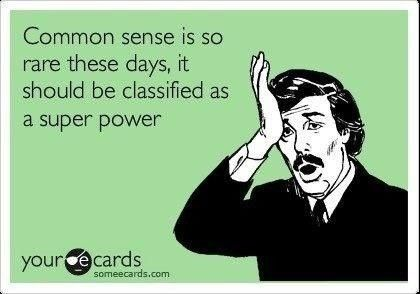 Not so common...
