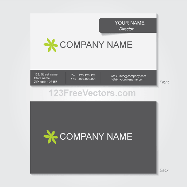 Business card template vector free vectors pinterest card business card template vector reheart Images