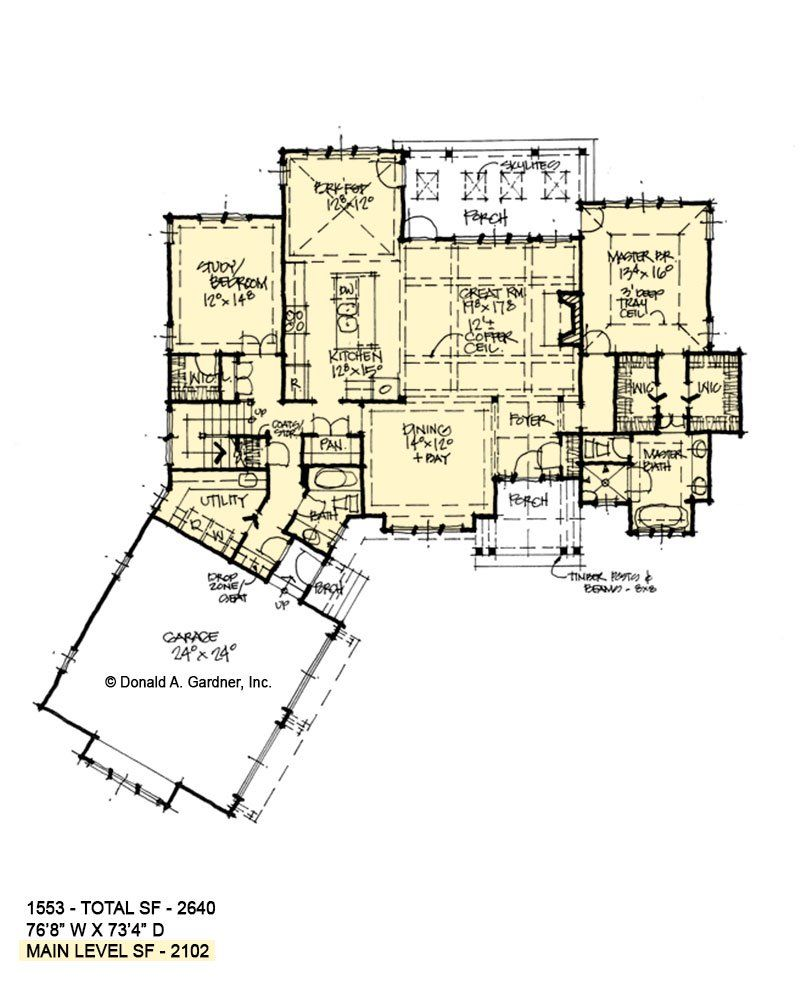 two story home designs rustic house plans don gardner