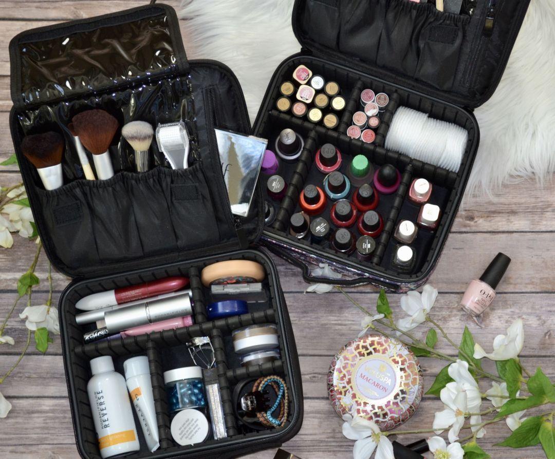 Cute Mini Travel Oxford Soft Makeup Bag