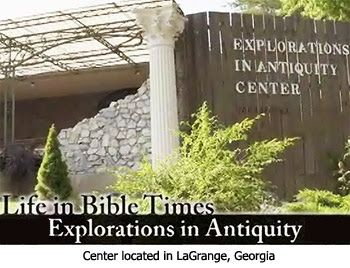 Explorations in Antiquity Center good article on pressing olives and stomping grapes