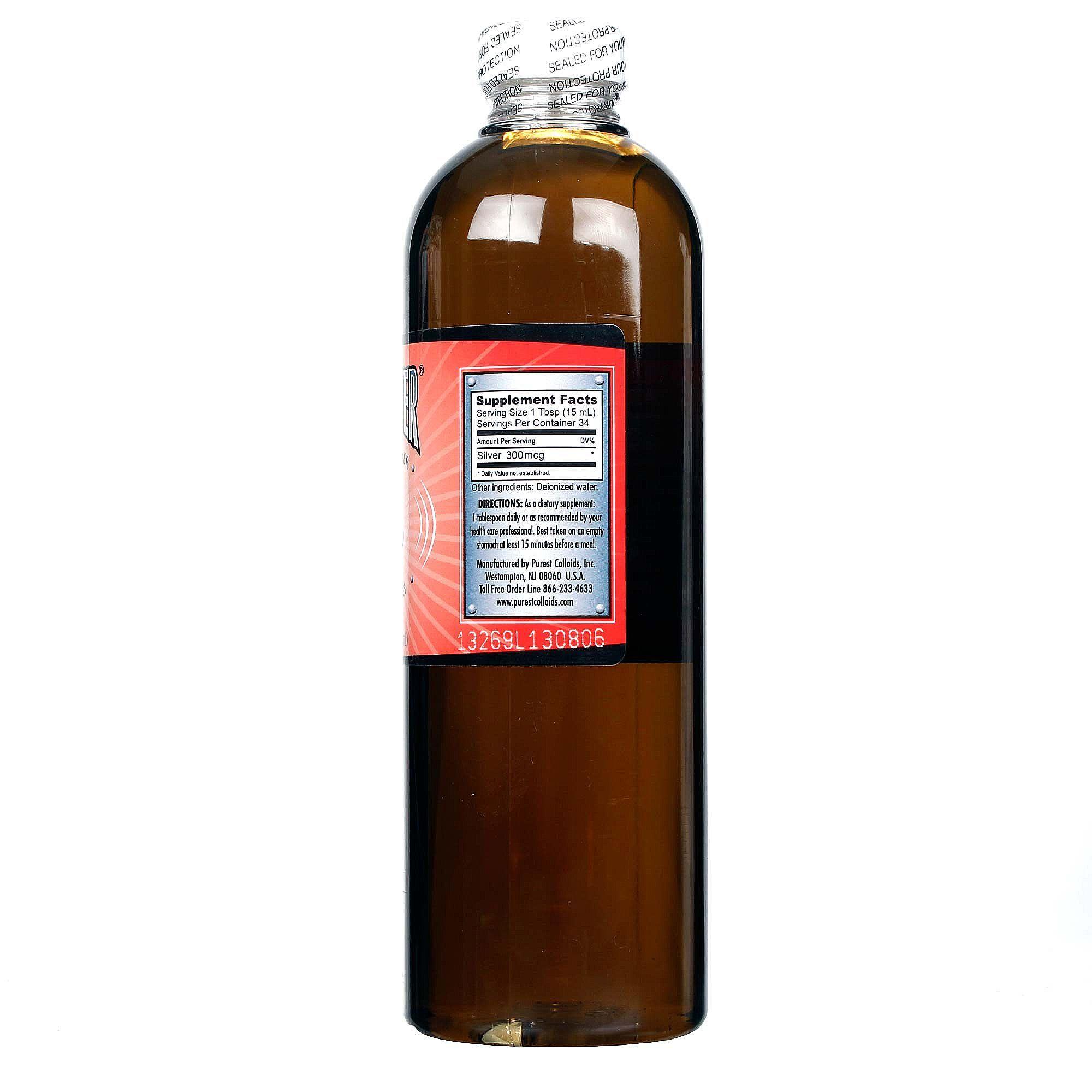 colloidal silver mesosilver brand 500ml immune strength mineral supplement