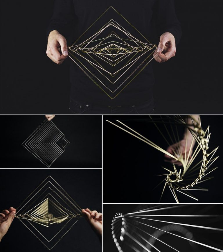Square Wave: The Mind-Bending Stress-Relieving Kinetic Spinner - Legit Gifts