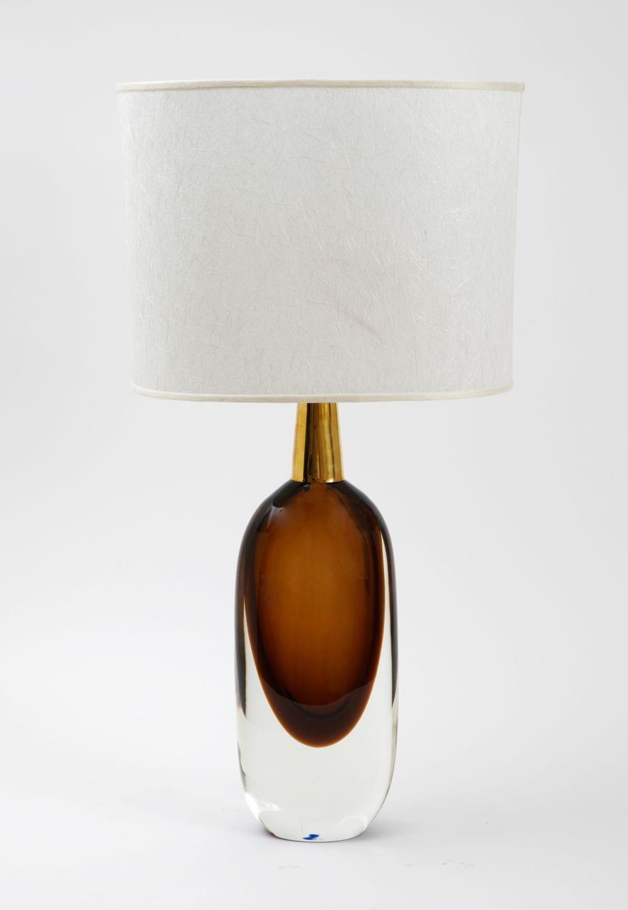 A pair of seguso sommerso murano glass signed table lamps1950s a pair of seguso sommerso murano glass signed table lamps1950s mozeypictures Image collections