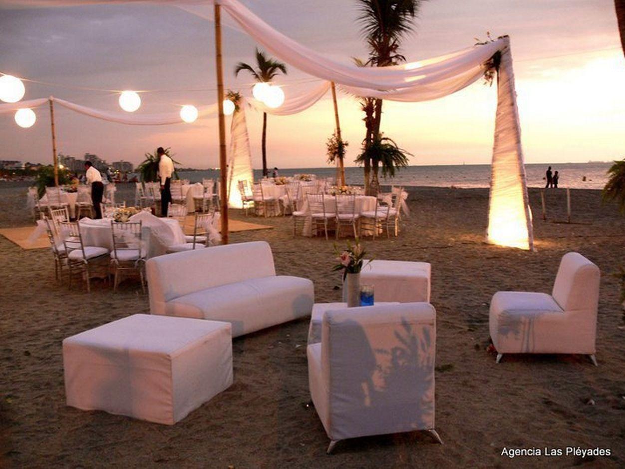 Exotic Colombian Weddings Wedding BeachDestination WeddingRustic WeddingSunset