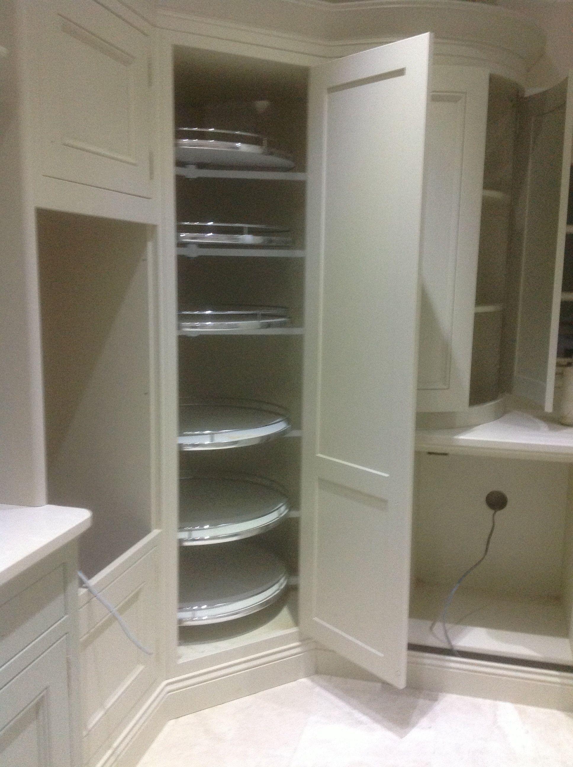 Curved Corner Larder Shelves Kitchen Cabinet Storage Corner Kitchen Cabinet Curved Kitchen