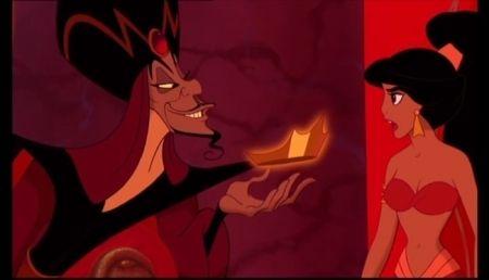 Aladdin Jafar In Power Aladdin Aladdin 1992 Disney Romance
