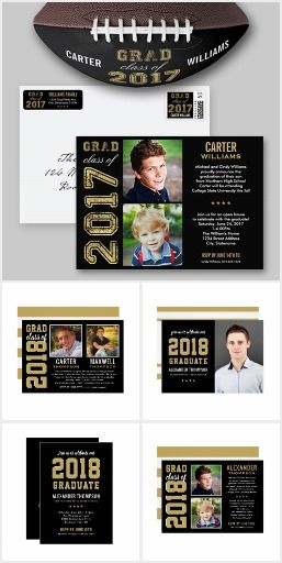 2018 graduation party invitations black and gold stylish 2018 graduation party invitations black and gold stylish personalized graduation photo announcement cards party filmwisefo
