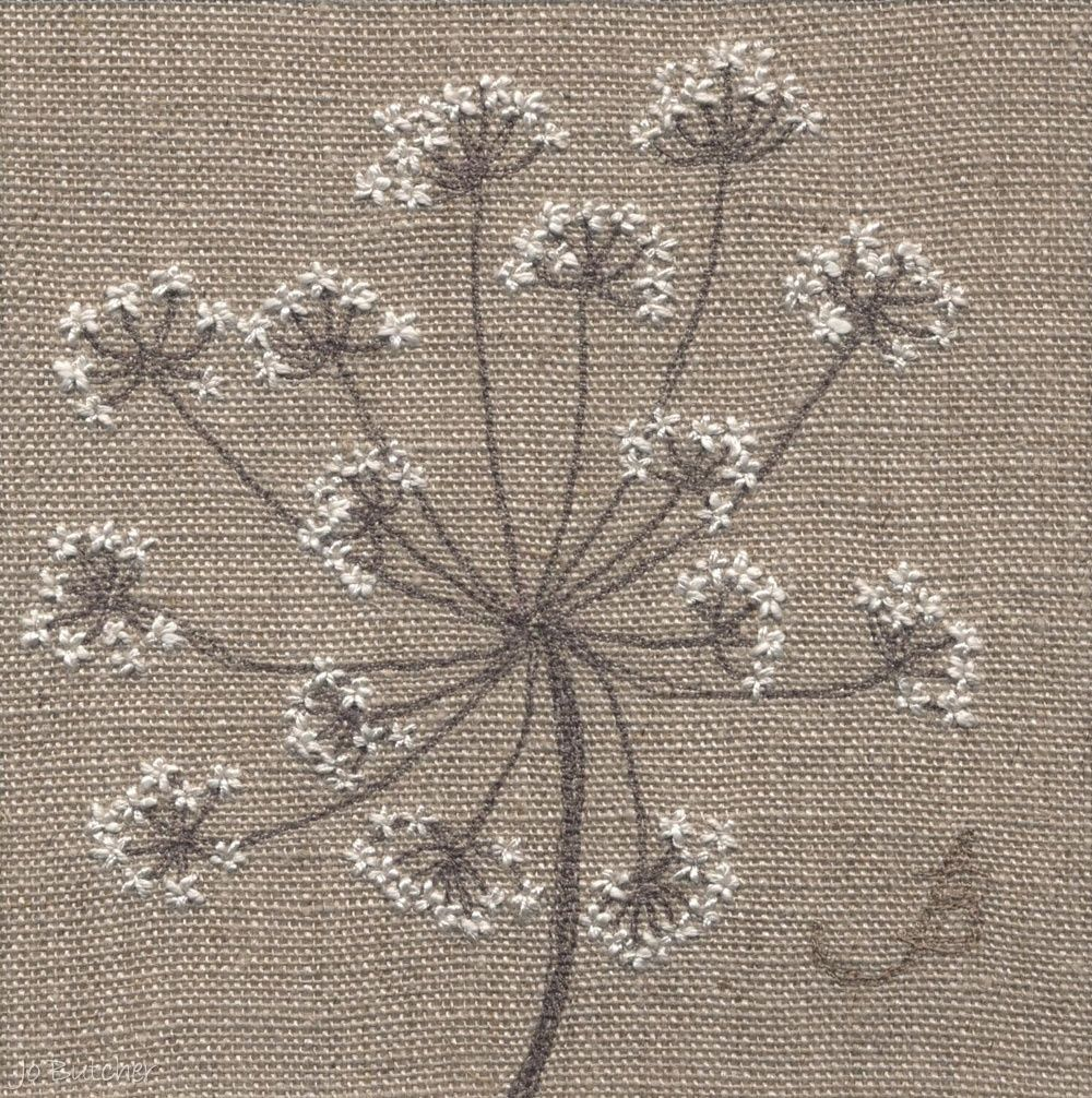 Jo Butcher, Embroidery Artist - Gallery - Category: Seedheads ...
