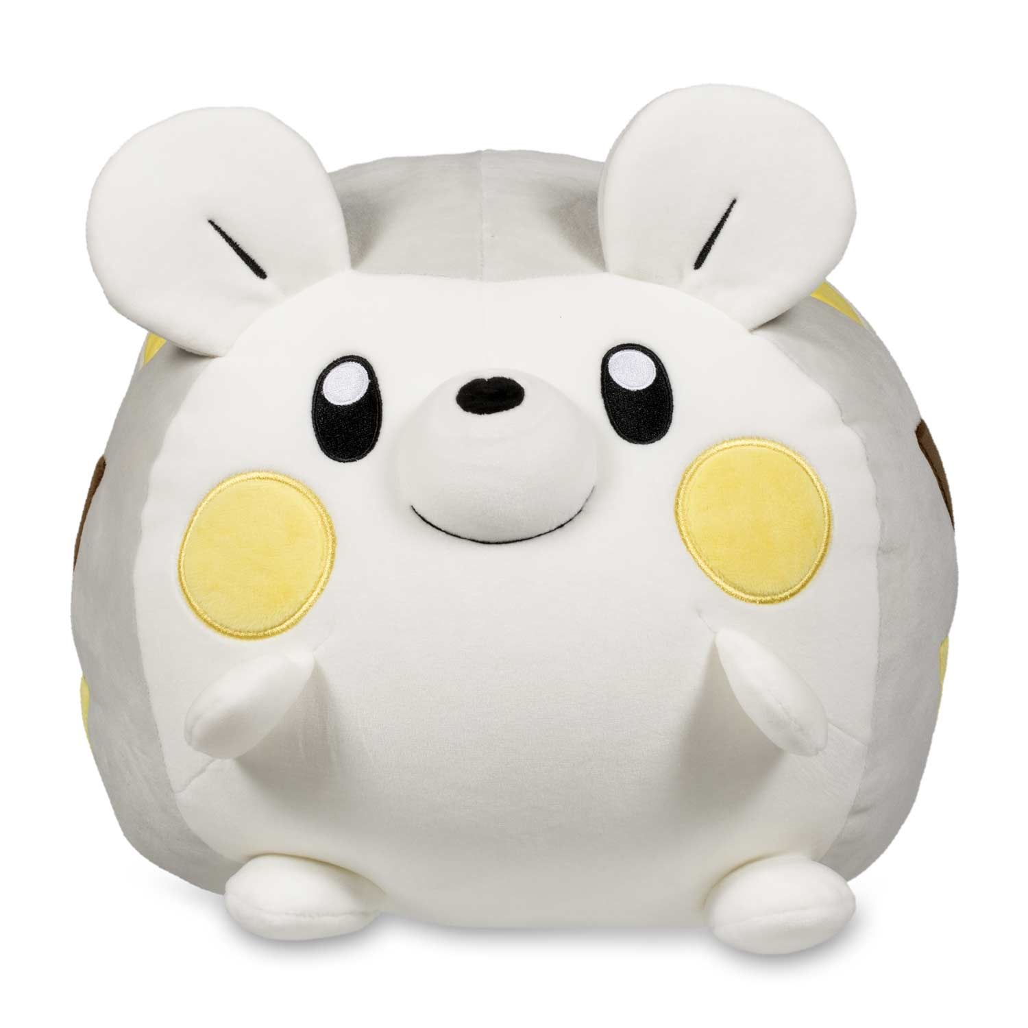 Official Togedemaru Squishy Plush Is Fully 10 Across And Stands