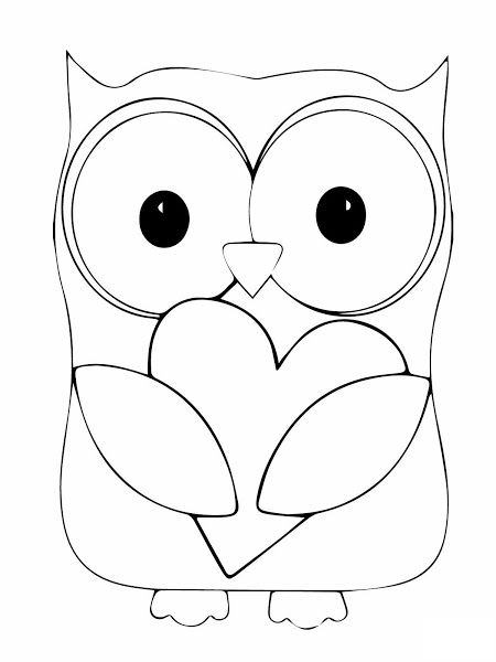 Crayola Christmas Coloring Pages Printable owl with