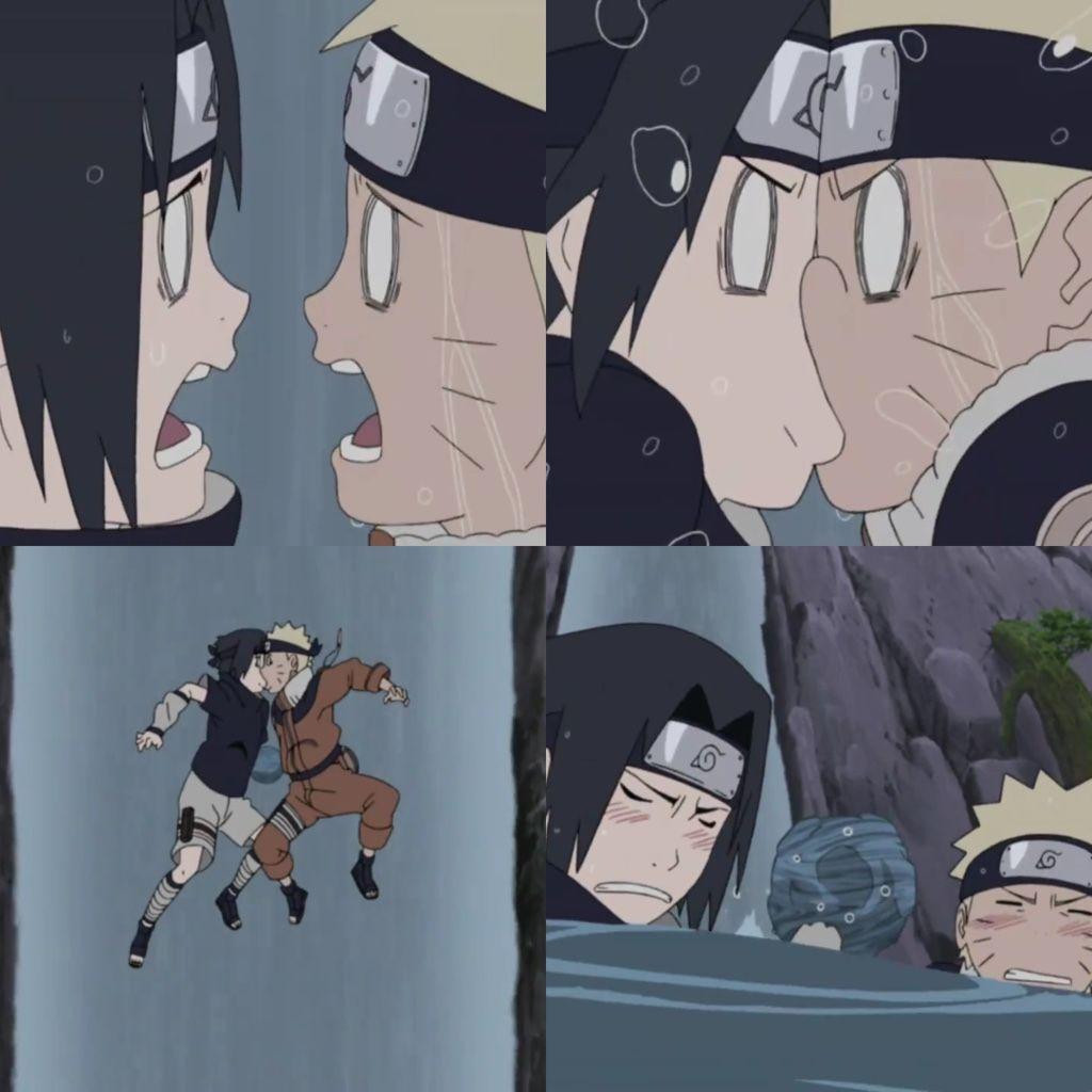 Naruto Naruto Shippuuden Sasuke: Naruto Shippuden: Naruto And Sasuke Stuck Together