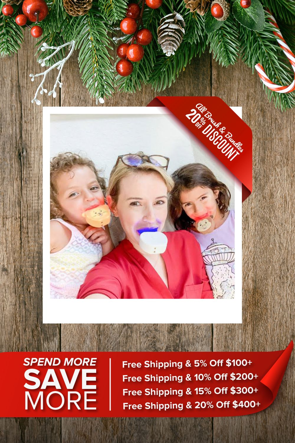 Special Discounts Free Shipping From Autobrush Automatic Toothbrush Holiday Promos Christmas Promo