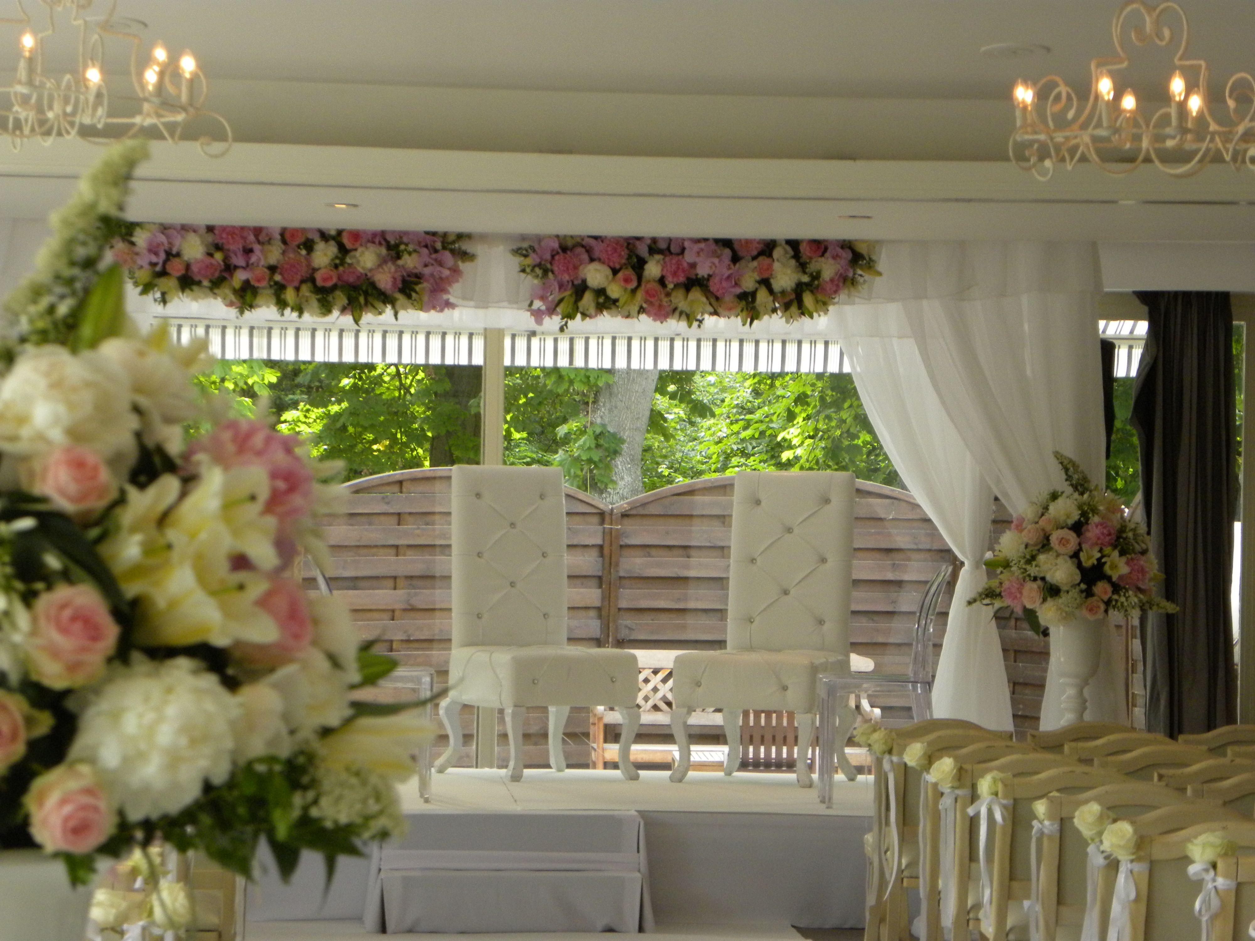 chuppah for the interfaith jewish wedding of cyrielle aurlien houpa lors du mariage mixte - Wedding Planner Mariage Mixte