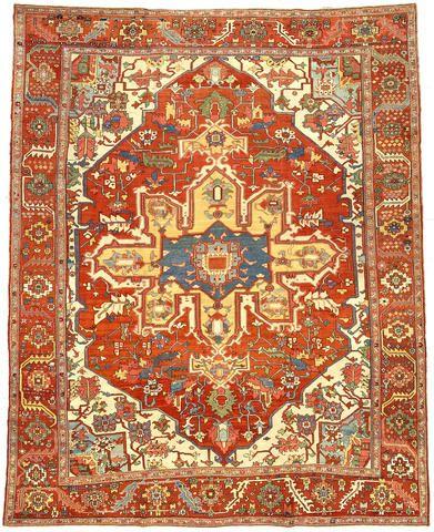 Persian Heriz Serapi Rug Circa 1880 Serapi Rug Rugs On Carpet Rugs