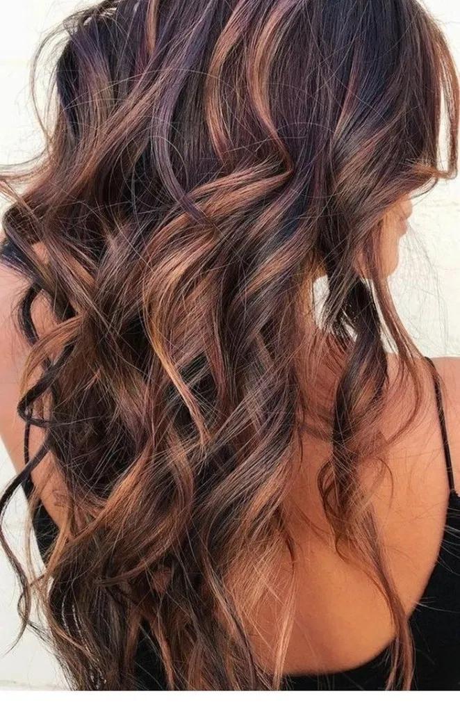 18 Perfect Colors automne cheveux pour les femmes Idées #fallhaircolors #haircolorideas #wom …