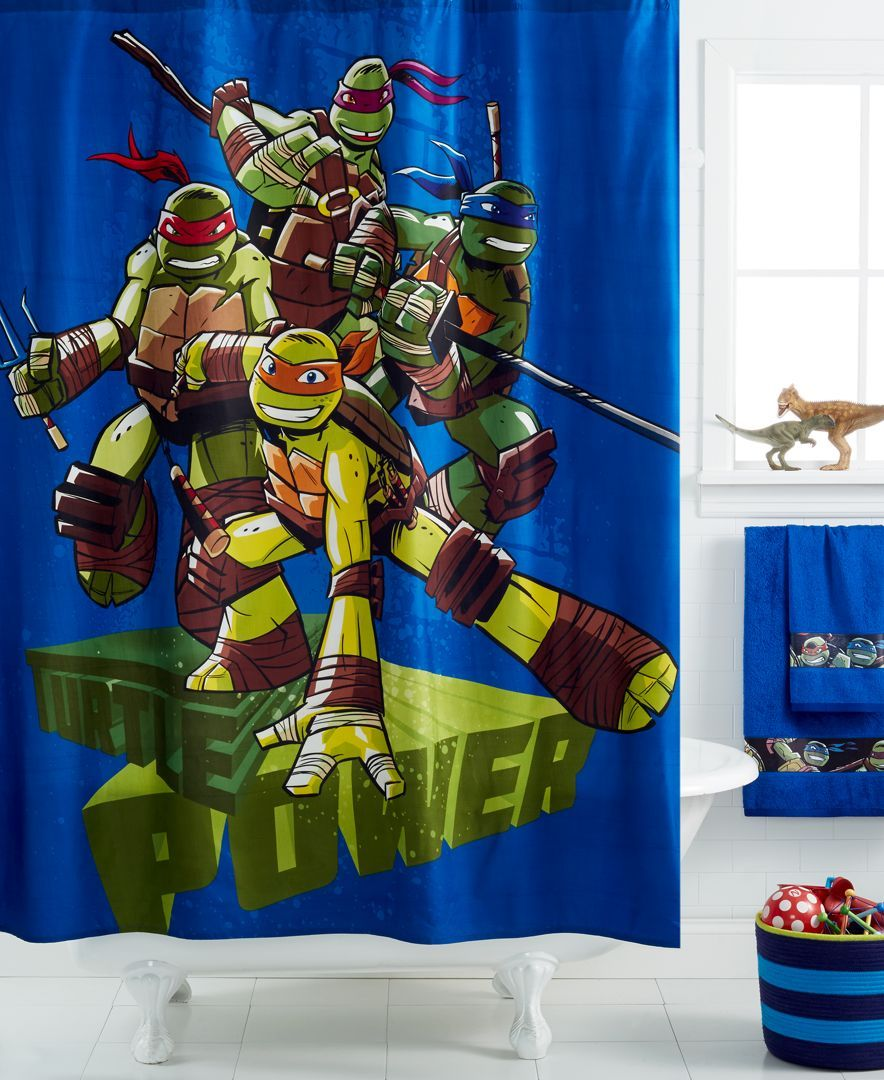 Disney Teenage Mutant Ninja Turtles Shower Curtain