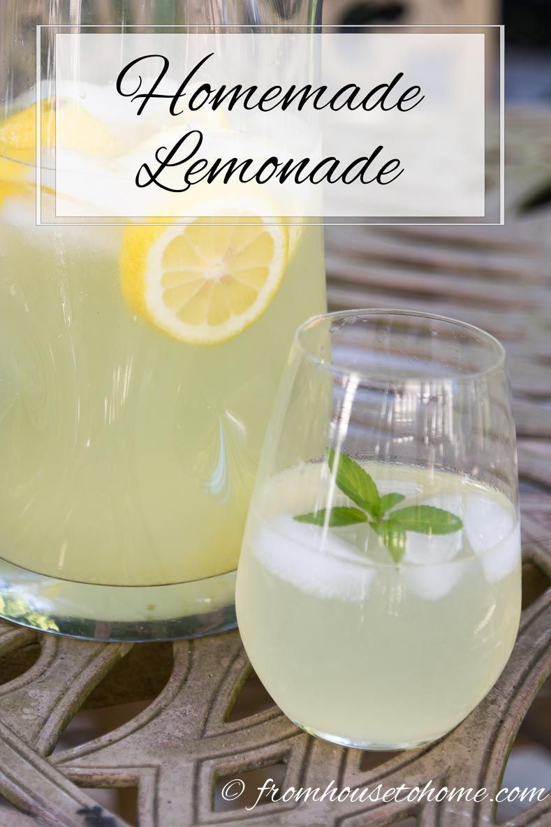 This Homemade Lemonade recipe is the best ever! It even includes a healthy version that doesn't use sugar. #fromhousetohome #july4th #lemonade #lemonade This Homemade Lemonade recipe is the best ever! It even includes a healthy version that doesn't use sugar. #fromhousetohome #july4th #lemonade #bestlemonade This Homemade Lemonade recipe is the best ever! It even includes a healthy version that doesn't use sugar. #fromhousetohome #july4th #lemonade #lemonade This Homemade Lemonade recipe is the #homemadelemonaderecipes