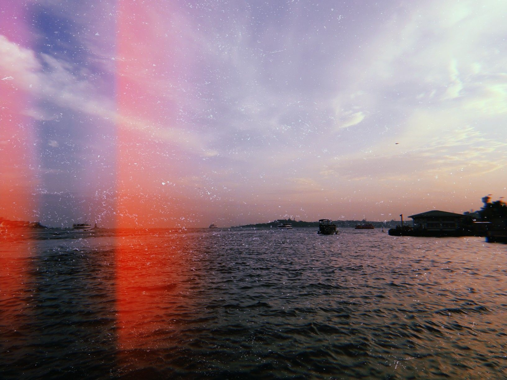 Huji cam with images photography