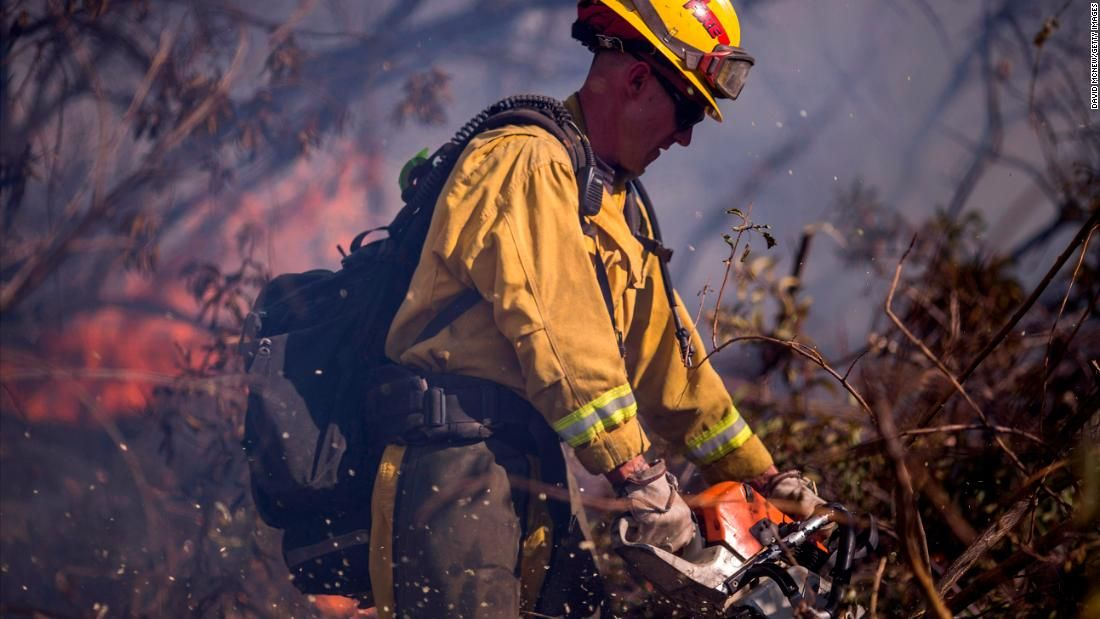 As wildfires ravaged California this year, thousands of
