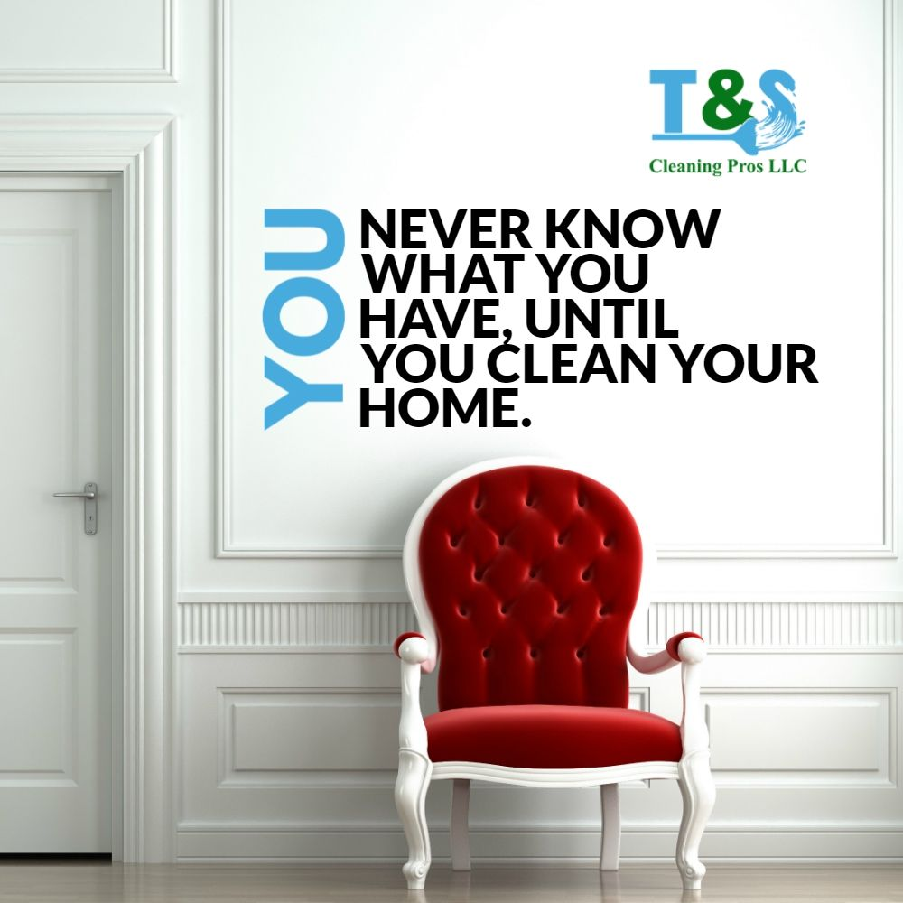 """""""You never know what you have, until you clean your home"""