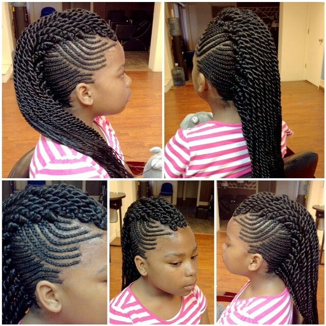Cornrows/Senegalese Mohawk | Shear Rubies Hair Masters in ...