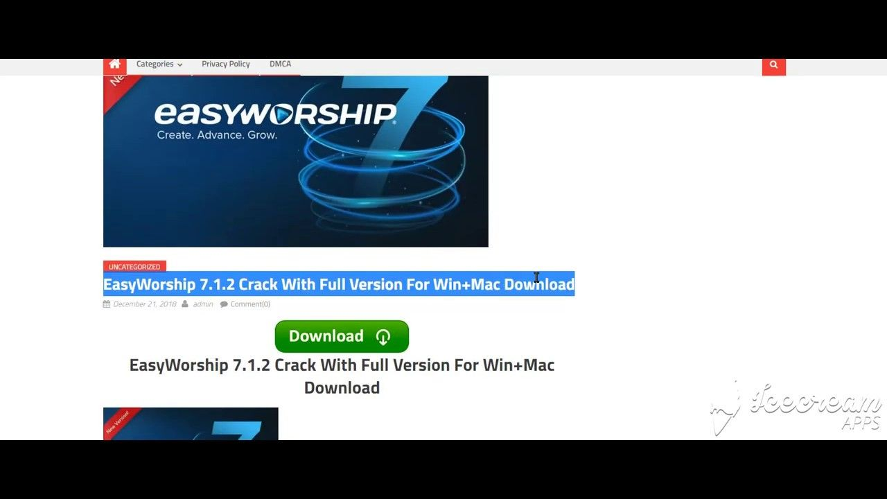 keygen easyworship 6.7.8
