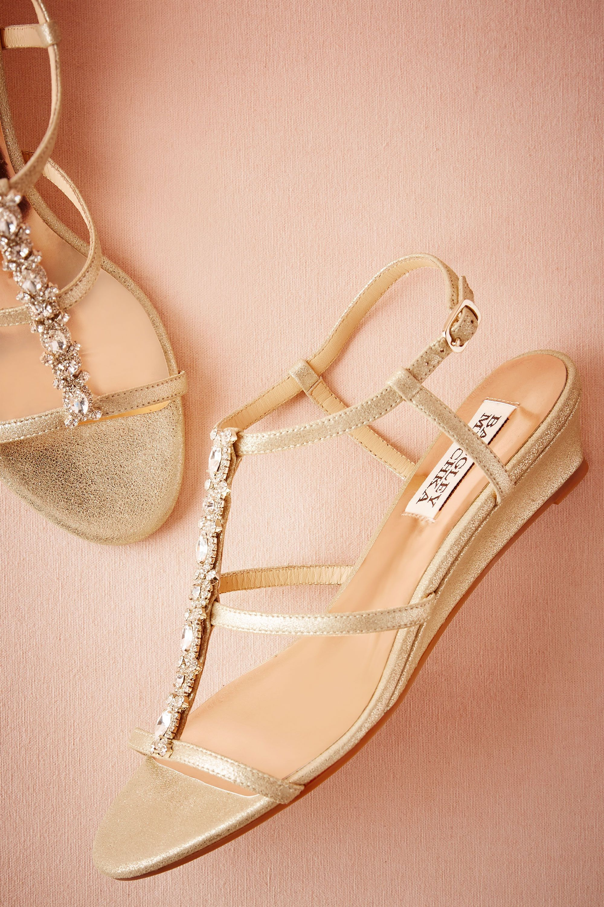 e520f9dd49f Maisie Wedges from  BHLDN. Maisie Wedges from  BHLDN Small Heel Wedding  Shoes ...