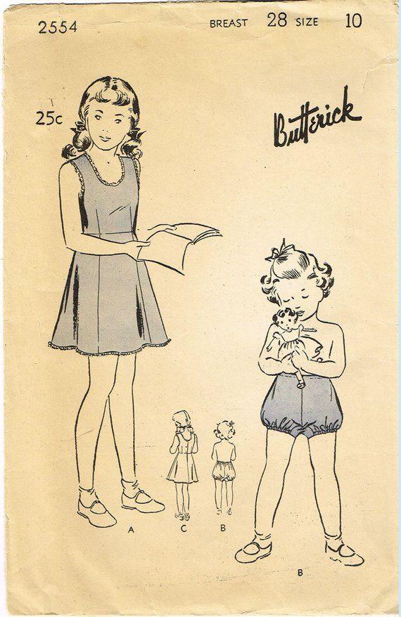 Forties Advance Pattern No. 3010 Sewing Pattern: 1942