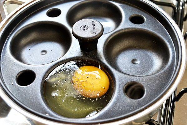 Cocinando Los Huevos Pochados En La Sart 233 N Especial De Le Creuset Mx Mis Preparaciones En Le