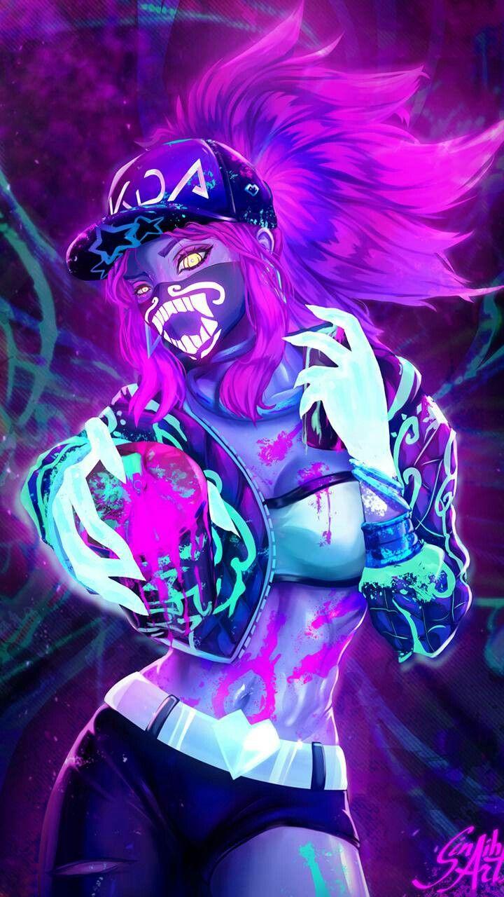 Kda Wallpaper League Of Legends Characters League Of Legends Lol League Of Legends