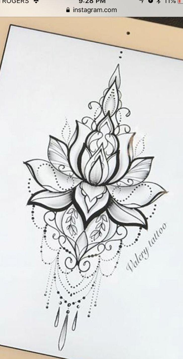 Photo of Flower Tattoo Design Mandala – ## mandala #flowers #design #tatow …
