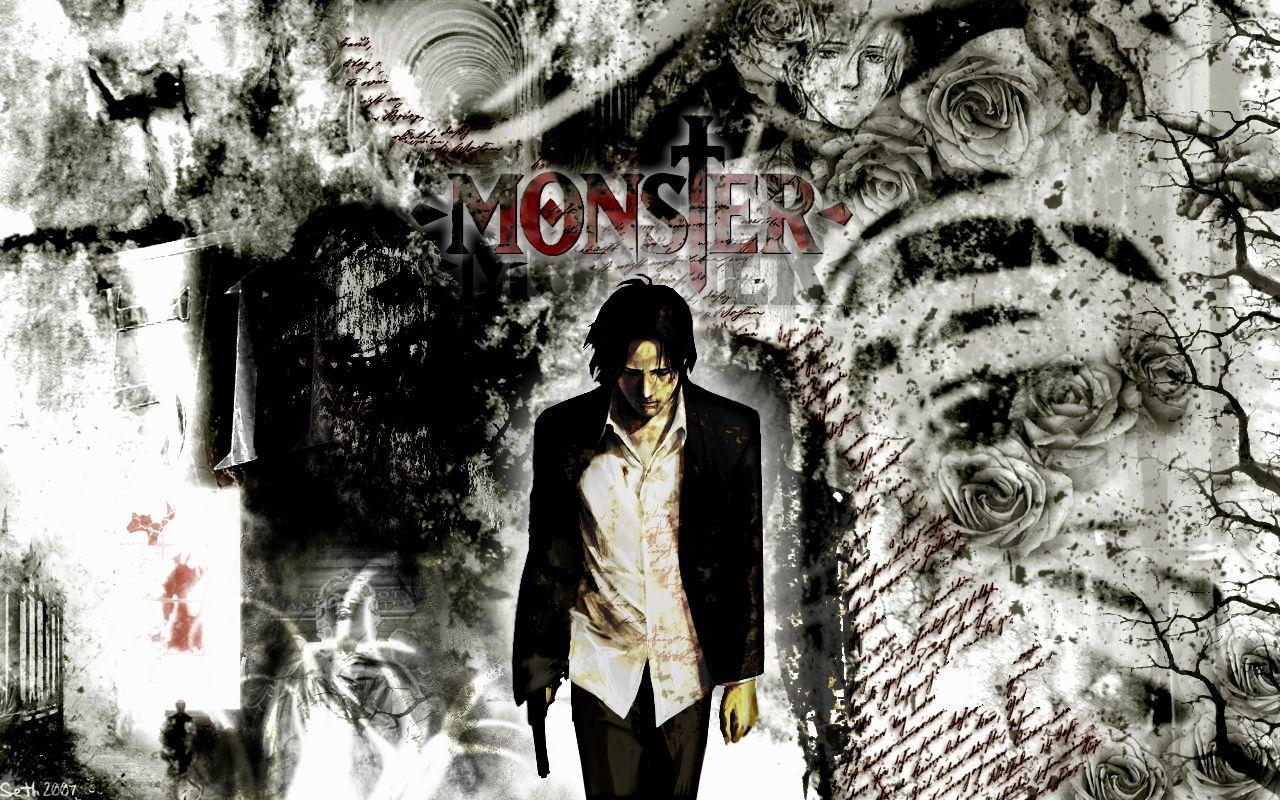 Image result for monster anime wallpaper