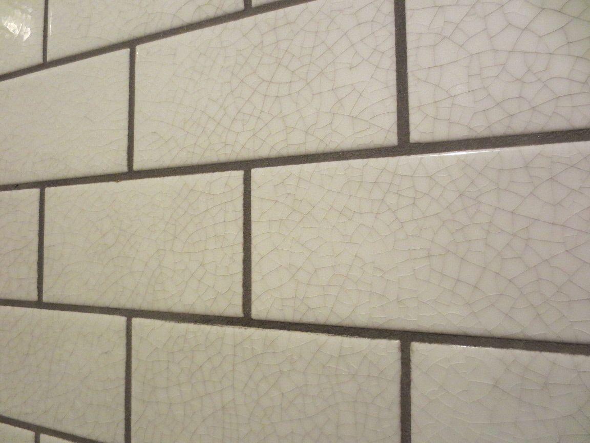 Crackle White Tiles Google Search Subway Tile Backsplash Kitchen Kitchen Tiles Glazed Tiles