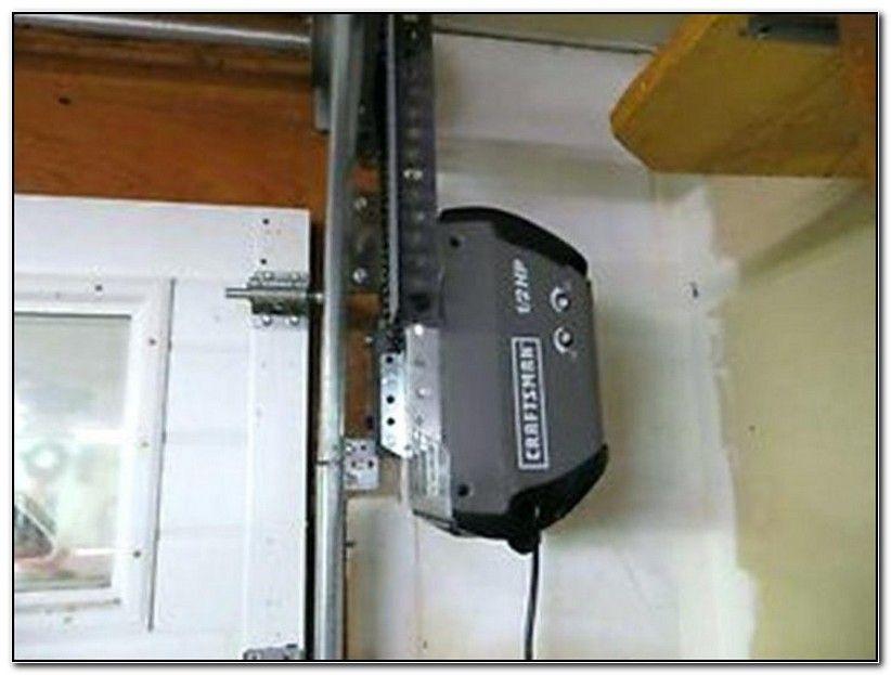 Garage Door Sensors At Home Depot With Images Jackshaft Garage